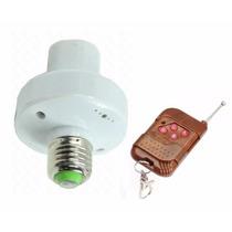 Bocal Soquete P/ Lâmpada C/ Controle Remoto Wireless Bivolt