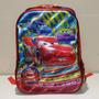 Mochila Infantil Escolar Costas Carros Mcqueen 3d Grande