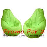 Puff Fiaca Pera Grande Promo X 2 !!! Por Belgrano O Caseros