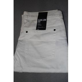 Pantalon Keneth Kole Blanco Mezcliya