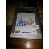 Final Fantasy X (10) Ps2 Original Pal España