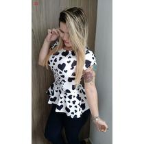Lindíssima Blusa Cintura Marcada - Vários Modelos