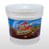 Doce Pastoso Com Leite E Chocolate Triangulo Balde De 10kg