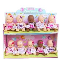 Display Com 10 Bonecas Mini Miudinhas Divertoys