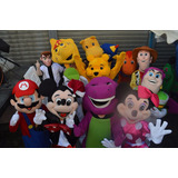 Show Muñecotes Princesas,mickey Minnie,backyardigans,barney