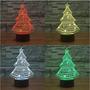 Lampara 3d Árbol De Navidad De Luz Que Brilla Intensamente
