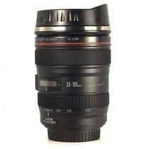 Caneca Termica Canon 24-105mm - Copo De Alumínio