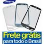 Tela Vidro Galaxy S3 I9300 Touch Screen Visor -frete Grátis