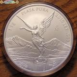 Un Kilo Plata Pura 999 Angel D Libertad Casa D Moneda Mexico