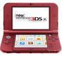 Consola New Nintendo 3ds Xl Roja Nueva Envio Gratis