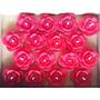 Velas Decorativas Flutuantes - Rosa Vermelha - 16 Und.