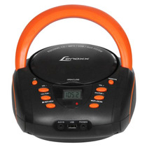 Radio Lenoxx Bd-120 Cd Mp3 Usb Preto E Laranja Bivolt