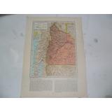 Provincia Neuquen Rio Negro Plano Mapa Lamina 1969