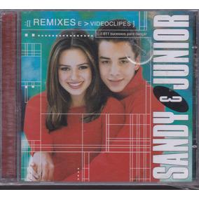 Sandy & Junior - Cd Estações Remixes E Videoclipes - Lacrado