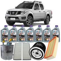 Kit Troca Óleo Mobil 5w30 Nissan Frontier 2.5 Diesel Attack