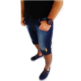 Bermuda Masculina Jeans E Sarja Grandes Marcas