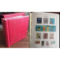 Mexico Colección Timbres Postales 1990-1999 En Album Alemani