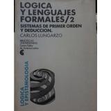 Logica Y Lenguajes Formales / 2 Sistemas De Primer Orden