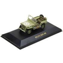 Miniatura Em Metal - 1:43 - Jeep Willys 1944 - Militar