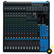 Mesa De Som Yamaha Mg16xu 16 Canais 1 Ano De Garantia Nfe