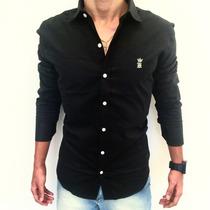 Camisa Masculina Sergio K Preta Original