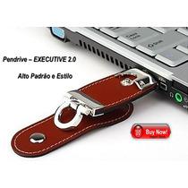 Pen Drive 16gb - Couro Executivo 2.0 - Frete Grátis