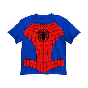 Camiseta Niño Superheroe Spider Man Marvel Original