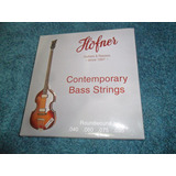 Höfner Cuerdas Para Bajos/p Violin Bass & Club Bass