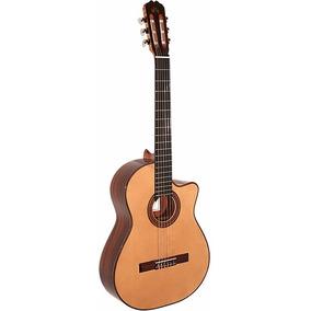 Guitarra Criolla La Alpujarra 85k Con Corte Nueva Con Funda