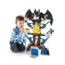 Fisher Price Imaginext Dc Batcaverna Batman E Coringa Mattel