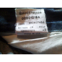 Made In Usa Levis 505 Talla 34/32 Straight Leg Button Fly