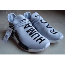 Kp3 Zapatos Adidas Nmd Human Race Gris By Pharrell Williams