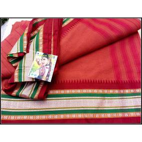 Saris De Algodon, Importados De La India, Vestido Hindu