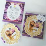 Rapunzel - Tarjetas De Invitación Personalizadas