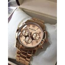 Relógio Feminino Dourado A Pronta Entrega Mk !!!!!!!!
