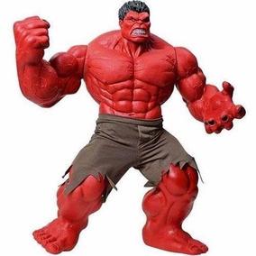 Boneco Hulk Vermelho Premium Gigante 55 Cm - Mimo