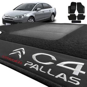 Jogo De Tapete Carpete Automotivo Bordado Citroen C4 Pallas