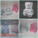 Ursinhos De Encaixe - Acrilico - Pacotes Com 20 Unidades