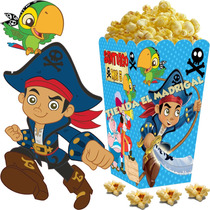 Kit Imprimible Capitan Jake Y Los Piratas Candy Bar Y++ 2x1