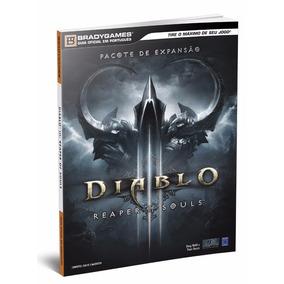 Bradygames Guia Oficial Diablo 3 Reaper Of Souls Pc Frete 12