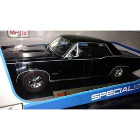 1965 Pontiac Gto Escala 1 18 Maisto Burago Nuevo