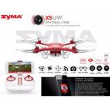 Drone Syma X5uw 2017,cámara Hd En Vivo+2 Baterías+tutoriales