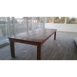 Mesa De Quincho Maciza Estilo Campo 3.50 X 1.20 - Fabricante