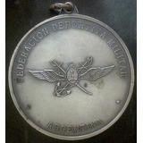 Medalla De La Federacion Deportiva Militar Diametro 4cm