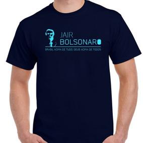 Camisa Blusa Jair Messias Bolsonaro Presidente