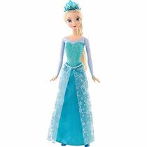 Boneca Frozen Princesa Elsa Brilhante - Mattel - Original