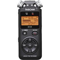 Grabadora Digital Tascam Dr-05 Nueva + Tarjeta 4gb - Enstock