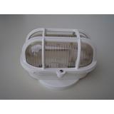 Kit 15 Arandelas Tartaruga Luminária Branca - Pvc Não Quebra