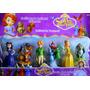 Juguetes Princesa Sofia Set 6 Personajes Muñecas Niña