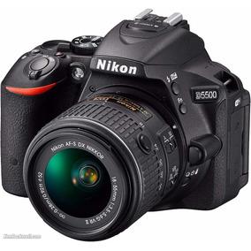 Camara Digital Nikon D5500 Kit 18-55mm Vr 24,2 Mp Full Hd